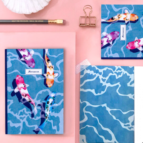 koi recycled notebook
